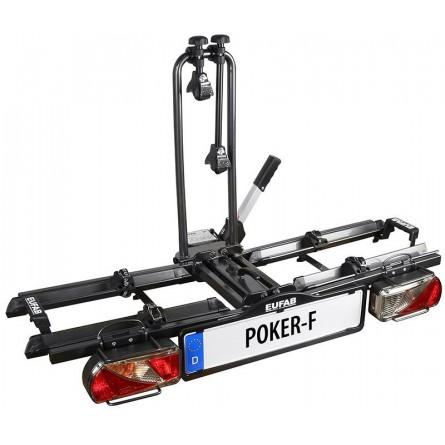 Porte-vélos POKER-F 2 vélos électriques