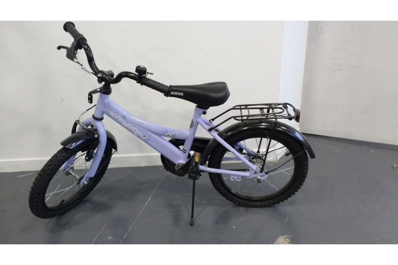 velo vtt mickey bike enfant gar on 16 pouces 5 a 6 ans. Black Bedroom Furniture Sets. Home Design Ideas