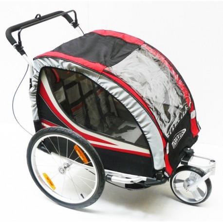 remorque velo enfant chien bagage transport velonline. Black Bedroom Furniture Sets. Home Design Ideas