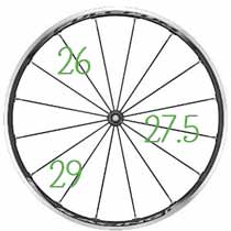 Comment choisir sa taille de roue de VTT ?