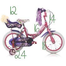 Taille roues vélo enfant - Velonline