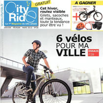 Le magazine City Ride parle de l'EVEO 450 !
